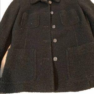 J. Crew Jackets & Coats - J Crew Women Black Wool 5-Button Blazer. Size: 2
